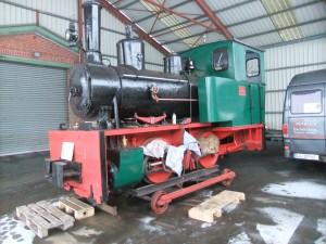 Dampflok RBL201 in Bleckede