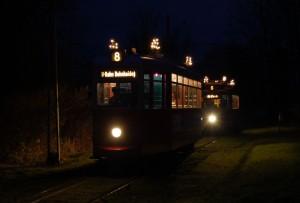 Adventsfahrt bei der Straßenbahn