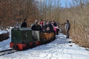 Mit der Feldbahn im Sachsenwald