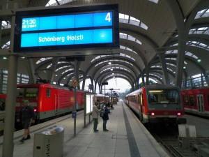 Regionalbahn in Kiel nach Schönberg