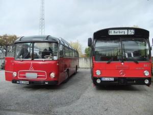 Magirus Deutz Saturn II L von 1962 und Mercedes Benz O 305 von 1984