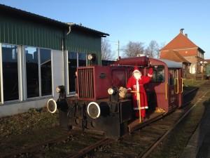 Der Nikolaus im Rangierdienst