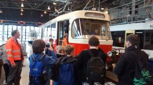 Besichtigung Schweriner Museumswagen