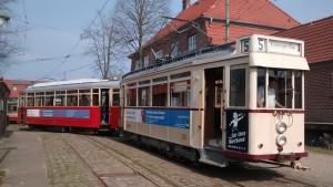 Abschleppen bei der Regelspurstraßenbahn: Hannover führt vor Hamburg!