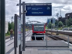 628 in Kiel HBF Gleis 2B