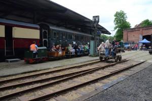 Feldbahn- und Draisine-Fahrten