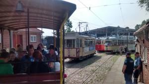 Die Straßenbahn beim Westernfest